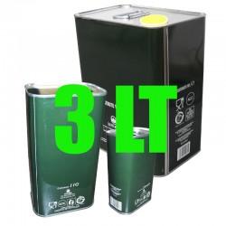 Lattina verde per olio 3 lt...