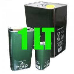 Lattina verde per olio 1 lt...